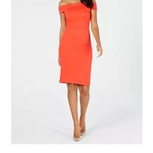Thalia sodi off-shoulder dress